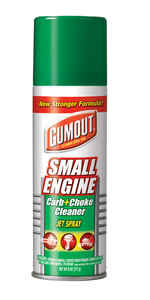 Gumout  Carburetor and Choke Cleaner  6 oz.