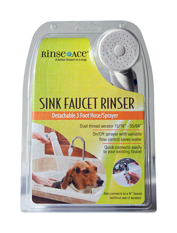 Rinse Ace Chrome Metal Sink Faucet Rinser Ace Hardware
