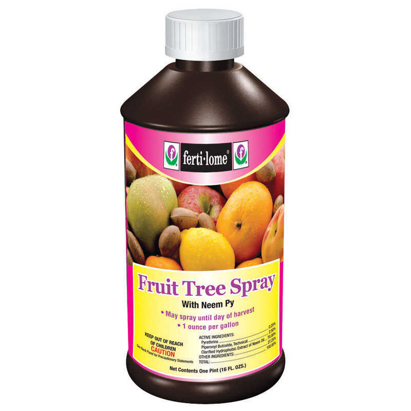 Ferti-Lome  Fruit Tree Spray  Insect, Disease & Mite Control  16 oz.