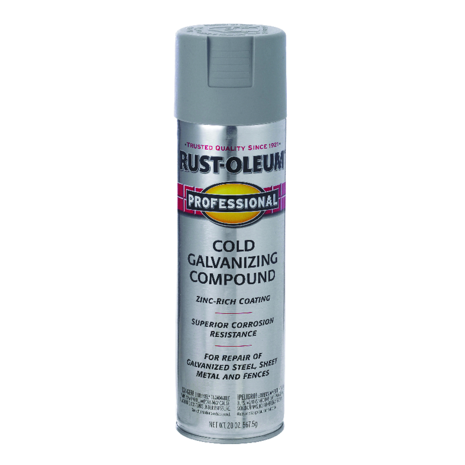 Rust Oleum Galvanizing Compound Spray 20 Oz Cold Gray