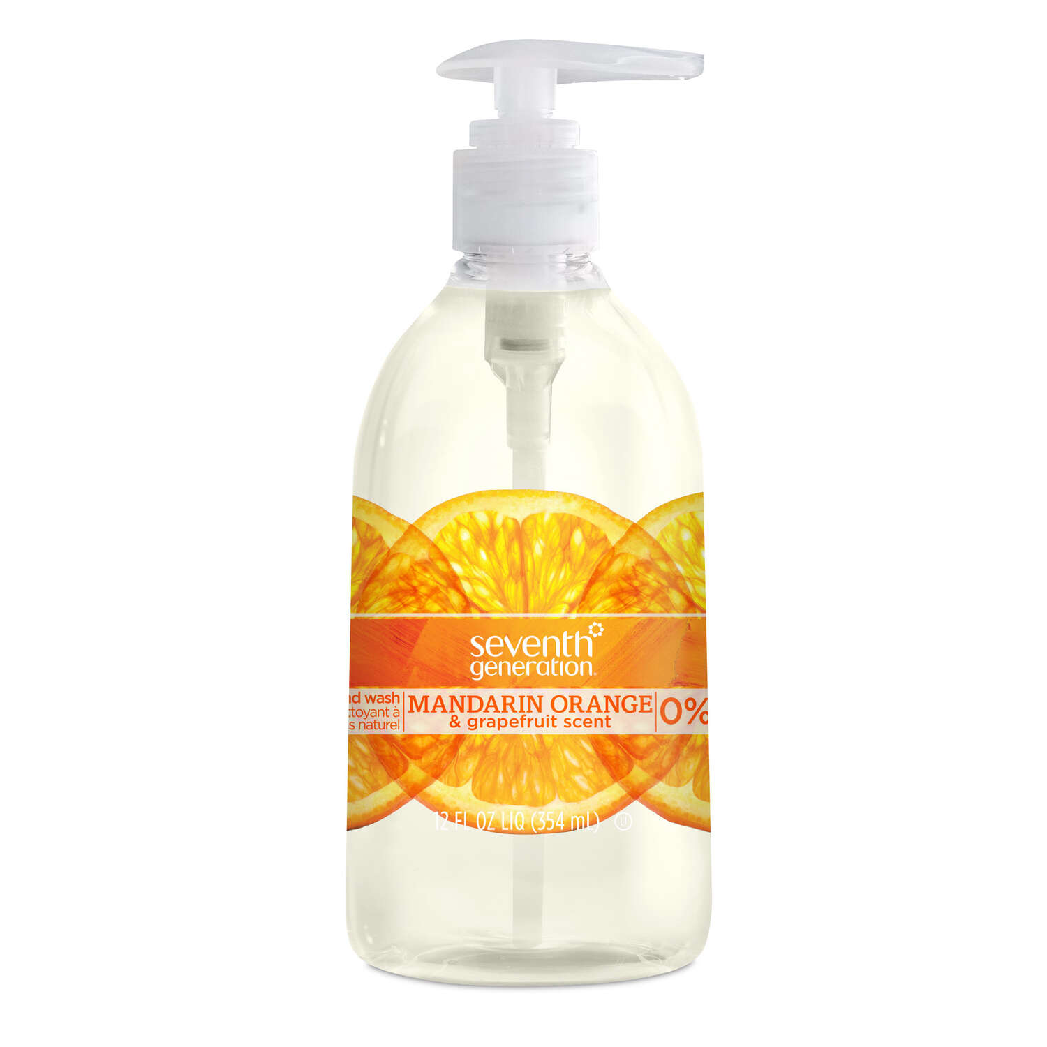 Seventh Generation  Mandarin Orange and Grapefruit Scent Liquid Hand Soap  1