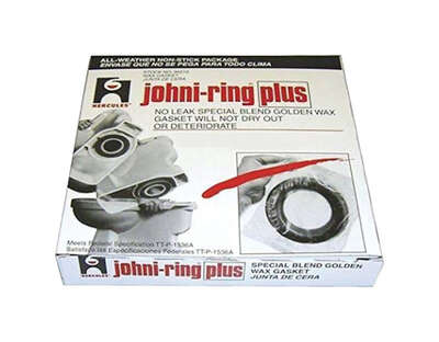 Hercules  Johni-Ring Plus  Wax Ring  Petroleum Wax  For 3 in. and 4 in. waste lines