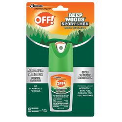 OFF!  Deep Woods  Insect Repellent  Liquid  For Fleas, Gnats, Mosquitoes, Mosquitoes, Flies 1 oz.
