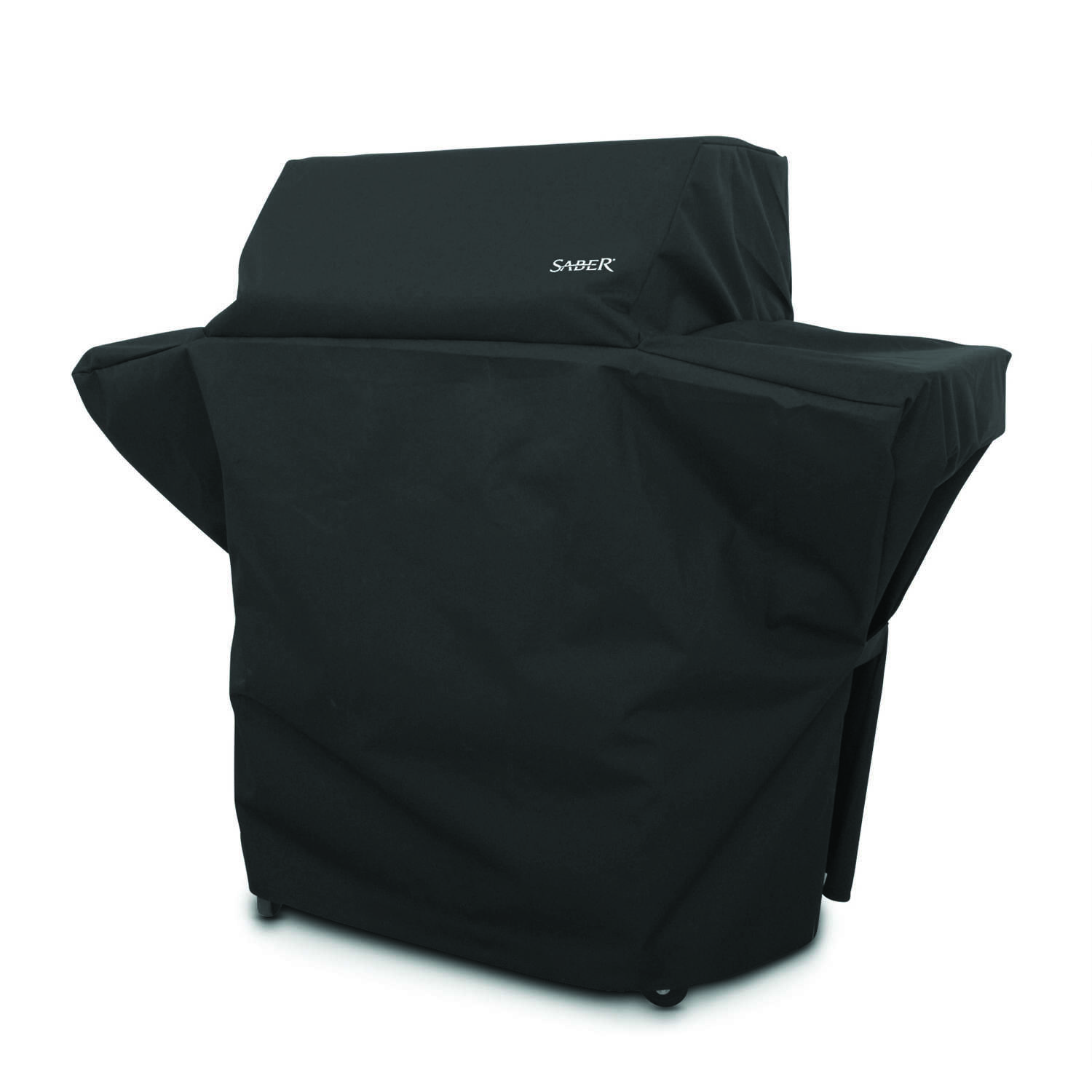 Saber  Black  Grill Cover  57.5 in. W x 26 in. D x 48 in. H For Fits 500 Size Saber Grills