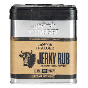 Traeger  Sea Salt and Chili Pepper  Jerky Rub  8.25 oz.