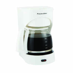 Proctor Silex  12 cups White  Coffee Maker