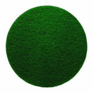 Gator  17 in. Dia. Non-Woven Natural/Polyester Fiber  Floor Pad Disc  Green