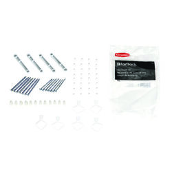 Rubbermaid Steel Fast Track Rail Hardware