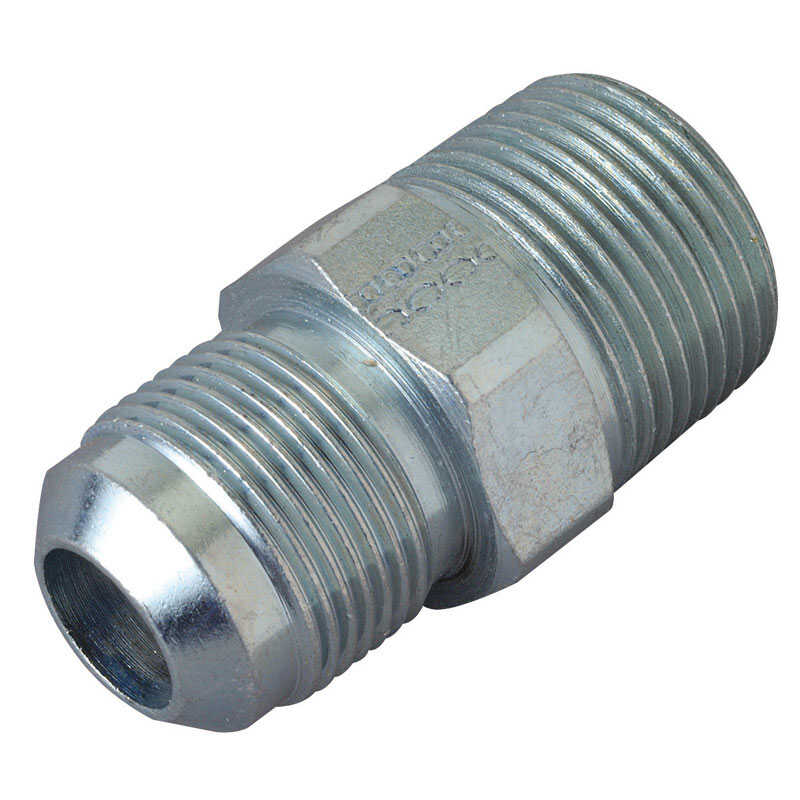 Magne Flo  3/4 in. Dia. x 5/8 in. Dia. Flare To MPT  Steel  Connector