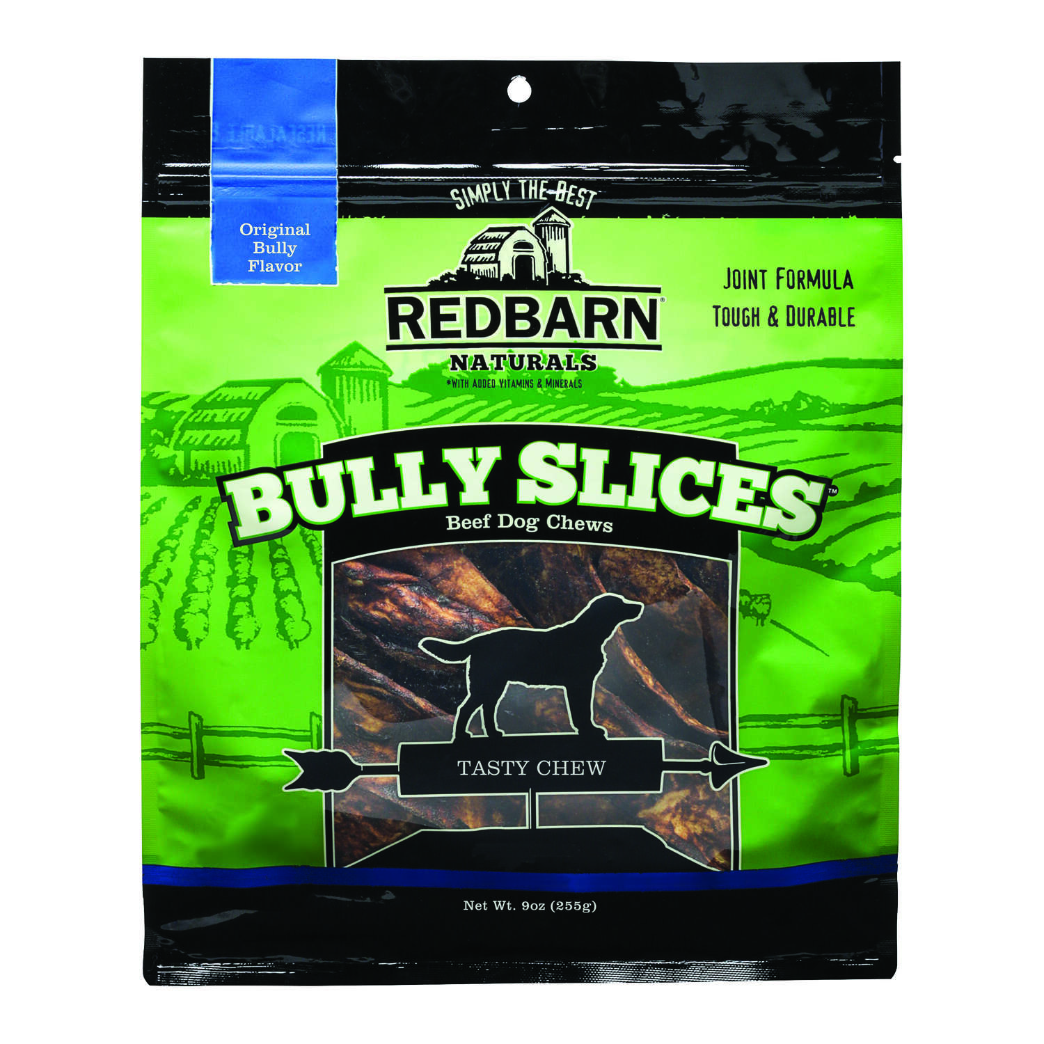Redbarn  Naturals  Medium/Large  Adult  Beef  1 pk 3 in. L Rawhide Chips