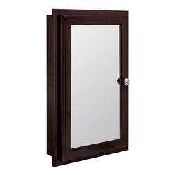Continental Cabinets  25.75 in. H x 15.75 in. W x 4.75 in. D Rectangle  Medicine Cabinet/Mirror