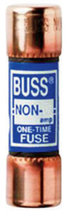 Bussmann  10 amps One-Time Fuse  1 pk