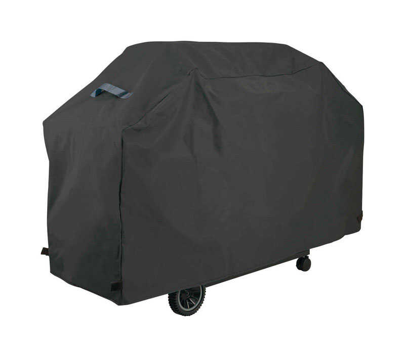 Grillmark  Black  Grill Cover  56 in. W x 21 in. D x 40 in. H For Broil-Mate grills 141154S 146454S