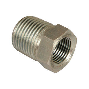 Apache  Steel  3/4 in. Dia. x 1/2 in. Dia. Hydraulic Adapter  1 pk