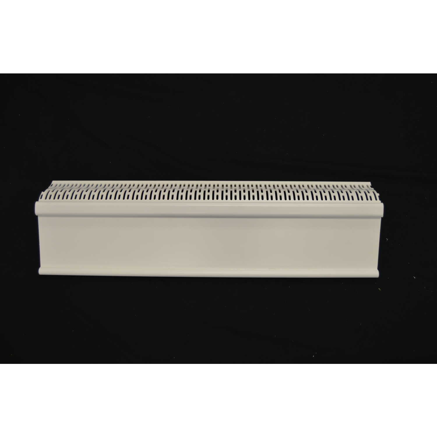 Plastx  The Better Baseboard Cover  3 in. H x 8 in. D 1-Way  White  ABS Plastic  Baseboard Heater Co