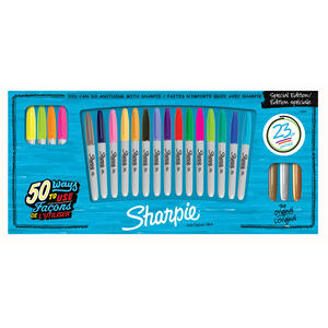 Sharpie  Special Edition  Assorted  Fine Tip  Permanent Marker  23 pk
