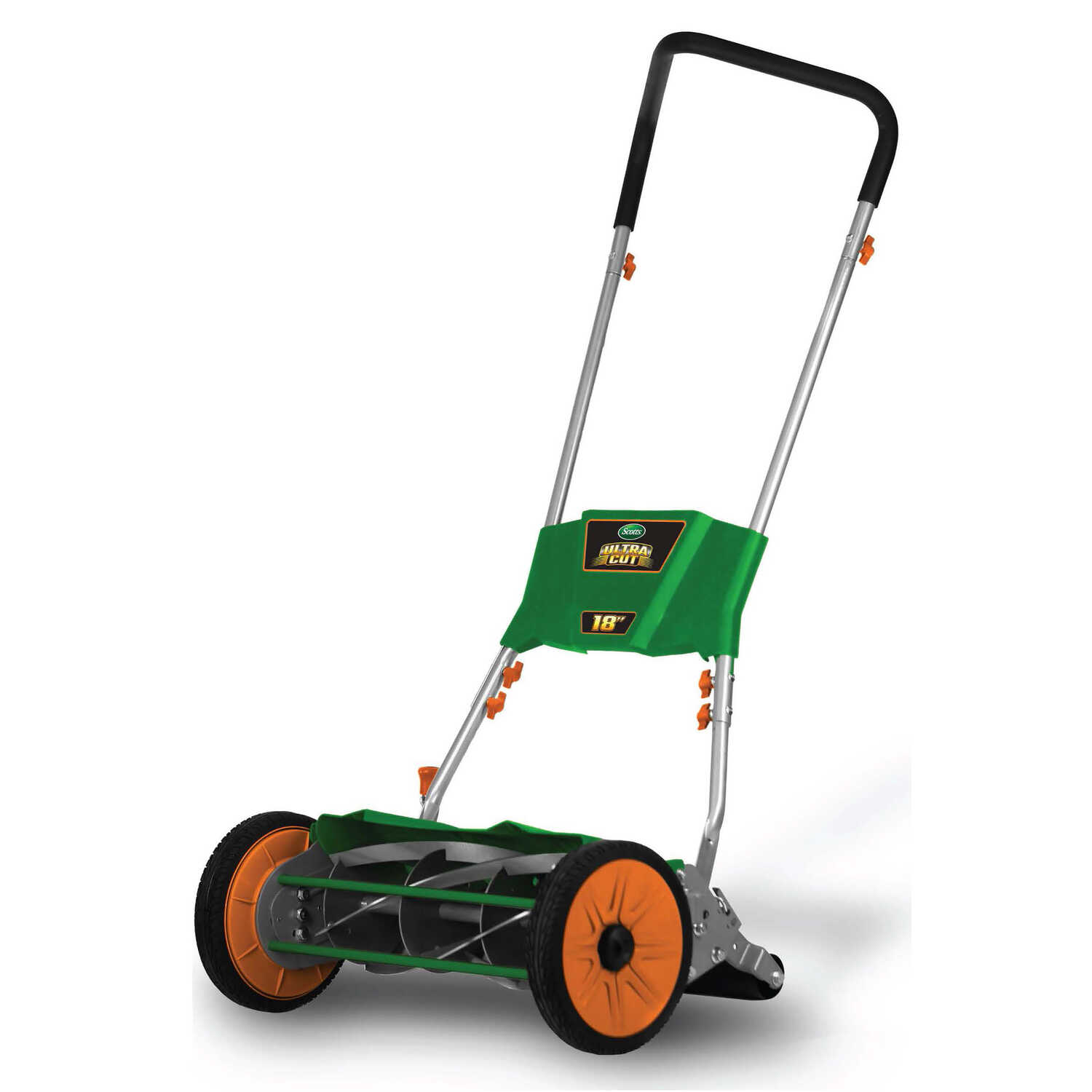 Scotts  Ultra Cut  18 in. W Manual-Push  Mulching Capability Lawn Mower