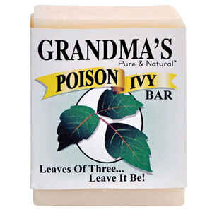 Grandma's  Pure & Natural Poison Ivy  No Scent Bar Soap  2 ounce