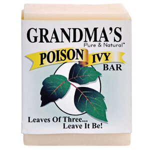Grandma's  Pure & Natural Poison Ivy  No Scent 2 ounce  Bar Soap