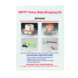 Nifty  1/2 in. W x 7200 ft. L Strapping Kit