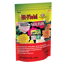 Hi-Yield  Powder  Sulfur  4 lb.