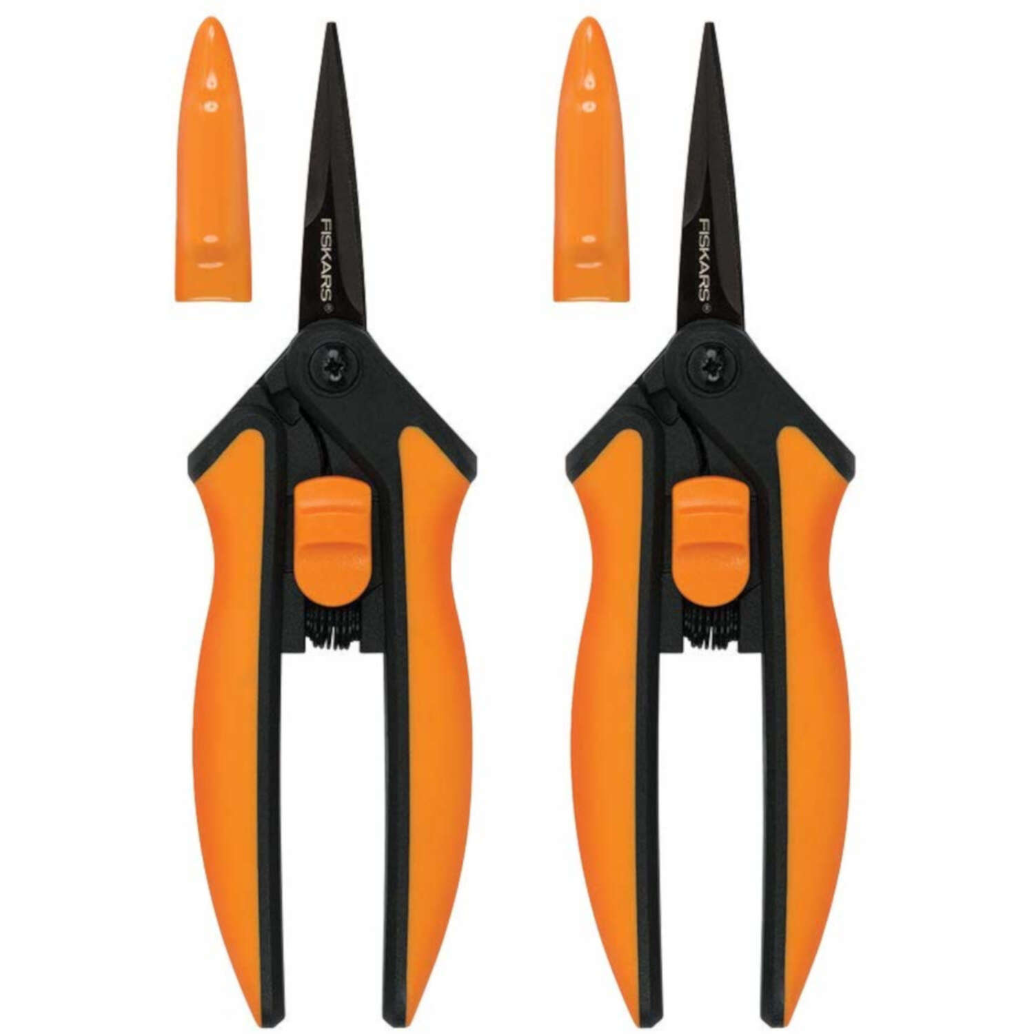 Fiskars  Softgrip  Stainless Steel  Straight Edge  Pruners