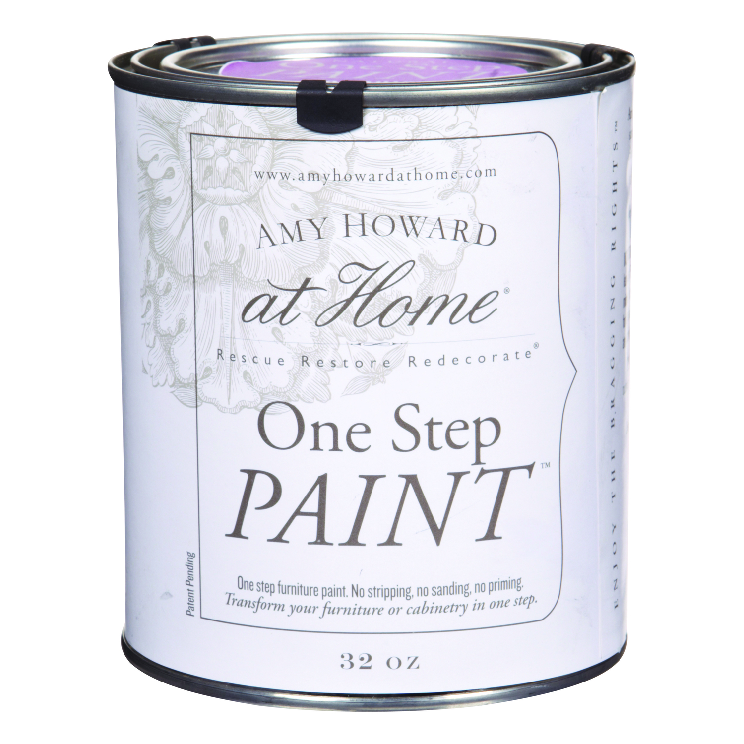 Amy Howard at Home  Orchid  Latex  One Step Paint  Flat Chalky Finish  32 oz.