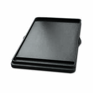 Weber  Griddle  Cast Iron/Porcelain