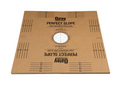 Oatey  Shower Perfect Slope  40  W x 40  L Brown  Shower Base