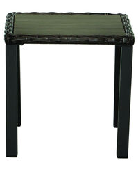 Living Accents Avondale Rectangular Brown PolyWood Side Table