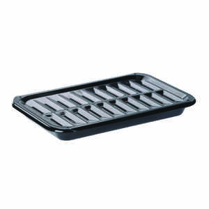 Range Kleen  Range Kleen  Porcelain  Broiler Pan and Grill  8.625 in. W x 13 in. L