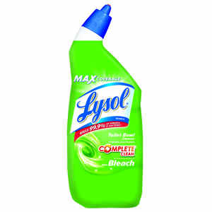 Lysol  Complete Clean  No Scent Toilet Bowl Cleaner  24 oz. Gel