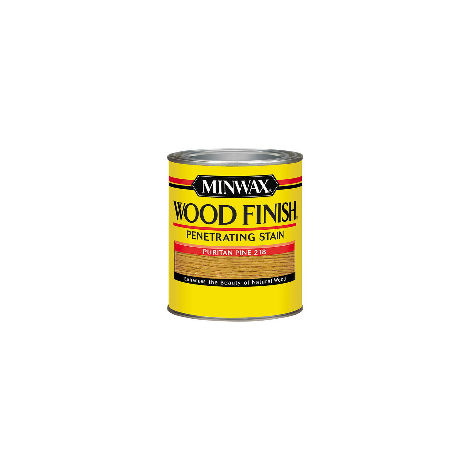 Minwax  Wood Finish  Semi-Transparent  Puritan Pine  Oil-Based  Oil  Wood Stain  0.5 pt.