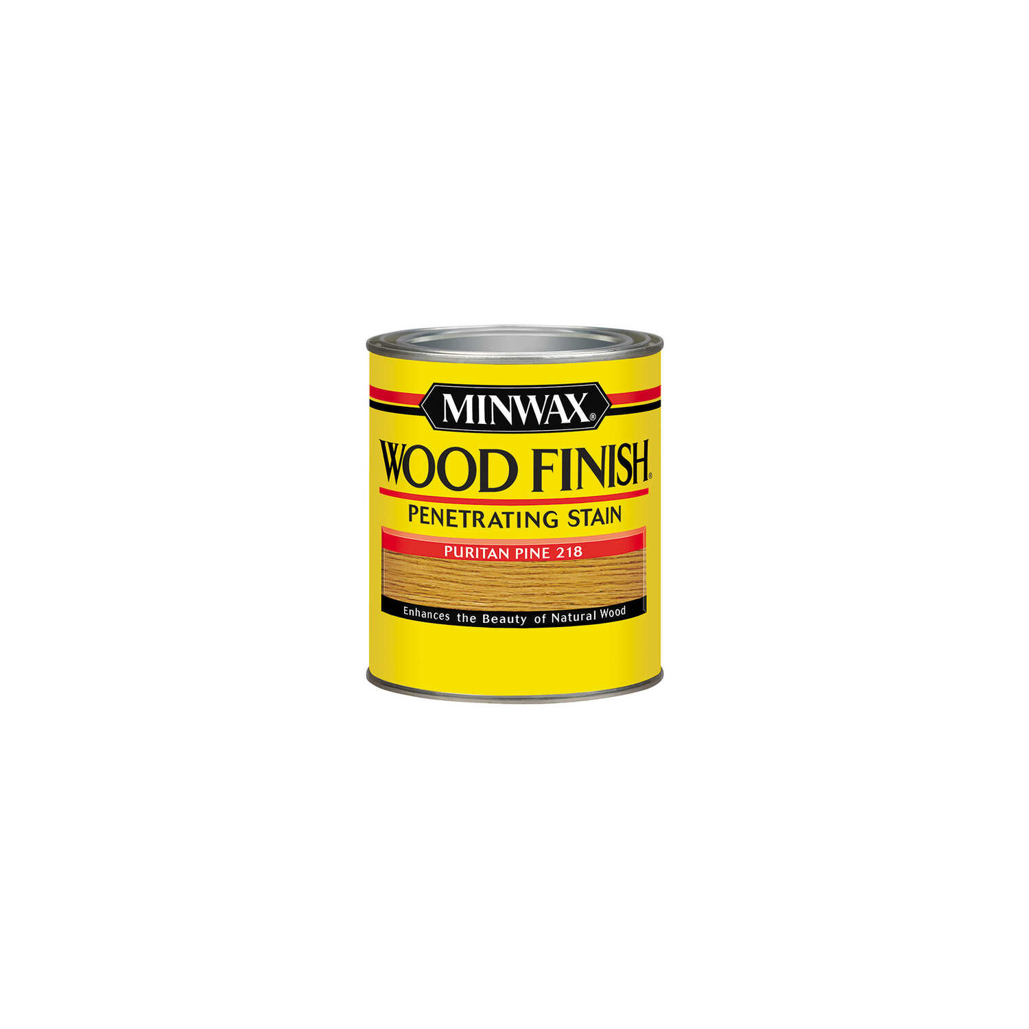 Minwax  Wood Finish  Semi-Transparent  Puritan Pine  Oil-Based  Wood Stain  0.5 pt.