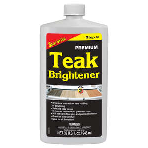 Star Brite  32 oz  Teak Brightener
