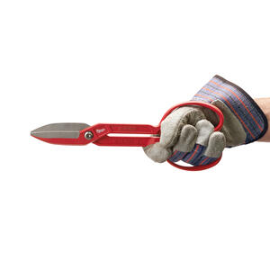 Milwaukee  12 in. Forged Alloy Steel  Classic  Tinner Snips  20 Ga. 1 pk
