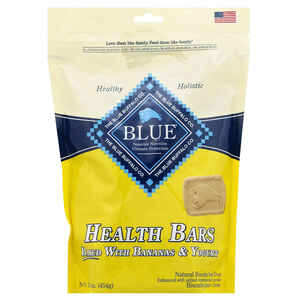 Blue Buffalo  Health Bars  Banana and Yogurt  Treats  For Dog 16 oz. 1 pk