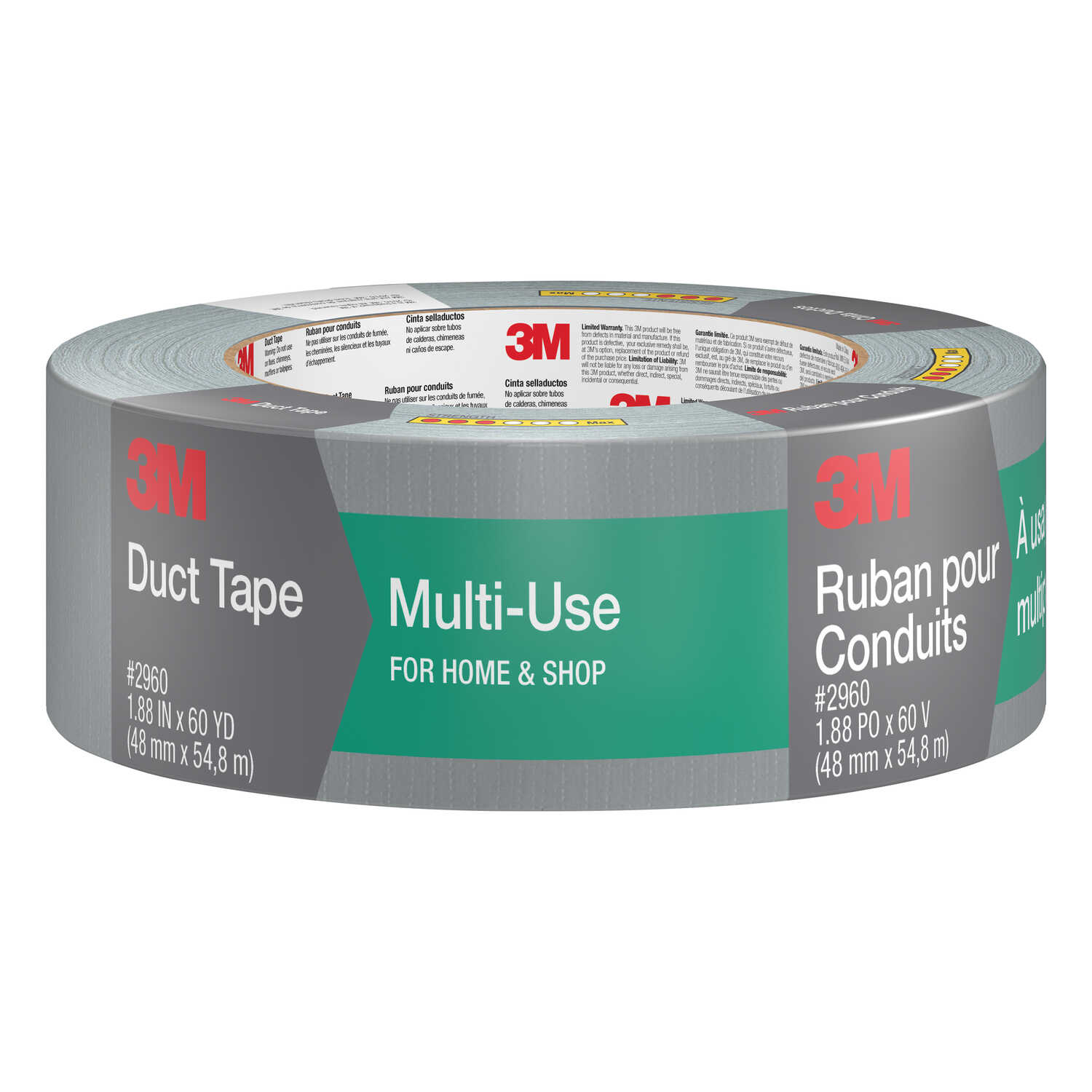 Scotch 1 88 In W X 60 Yd L Silver Duct Tape Ace Hardware