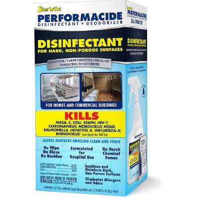 Star Brite Performacide No Scent Disinfectant Kit 32 oz. 1 pk