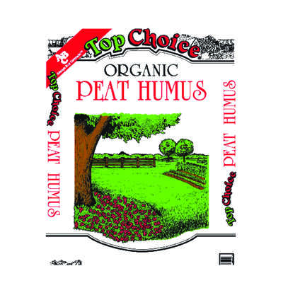 Top Choice Organic Peat Humus 1 cu. ft.