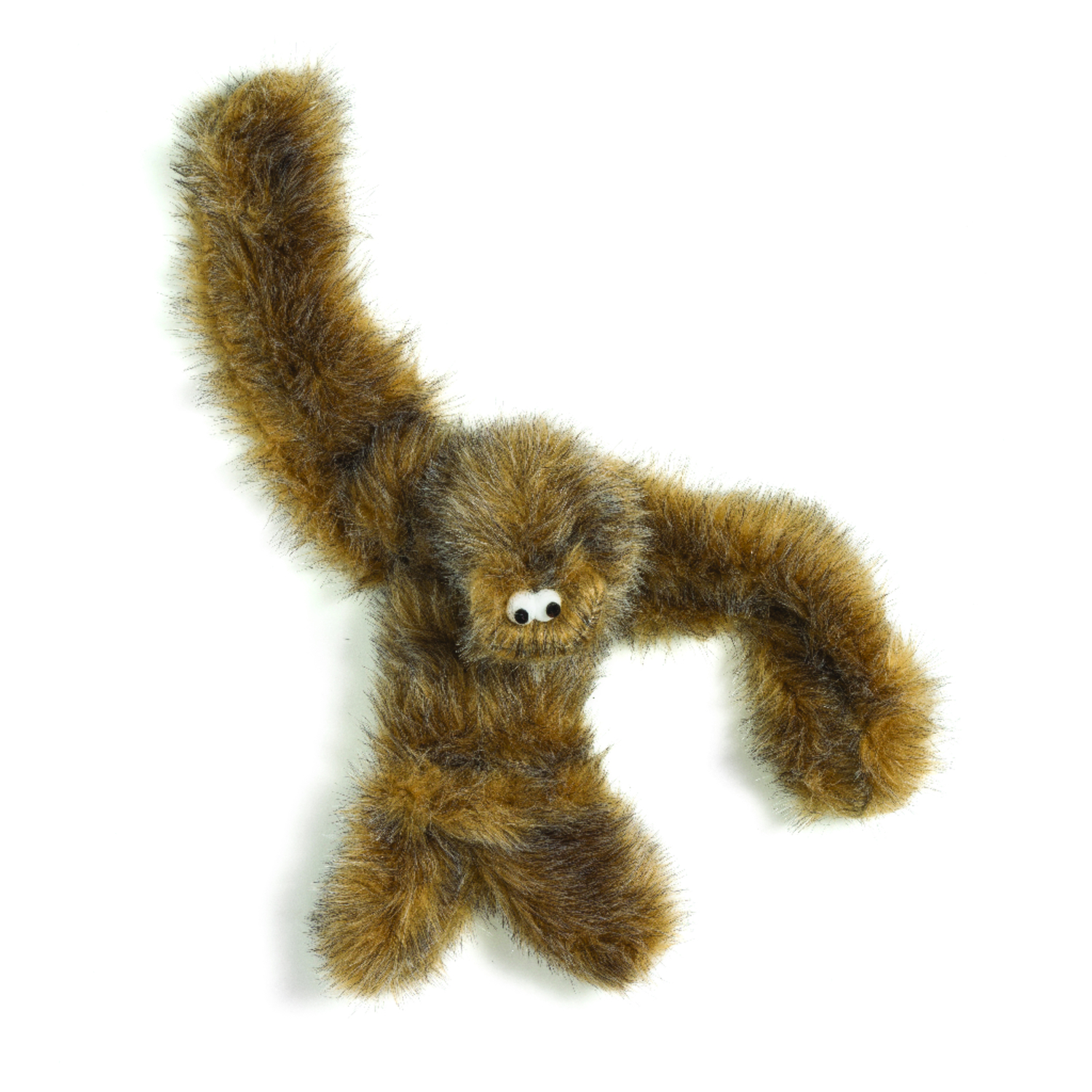 West Paw  Brown  Plush  Tango  Large  Dog Toy