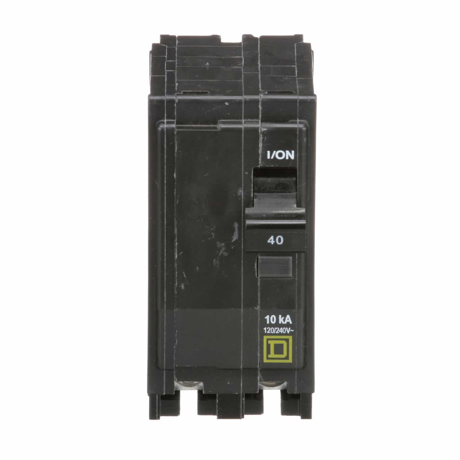 Square D  QO  40 amps Plug In  2-Pole  Circuit Breaker