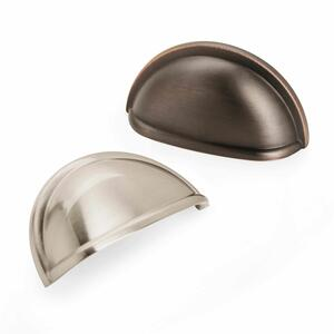Amerock  Cup Pull Collection  Pull  Oil Rubbed Bronze  1 pk