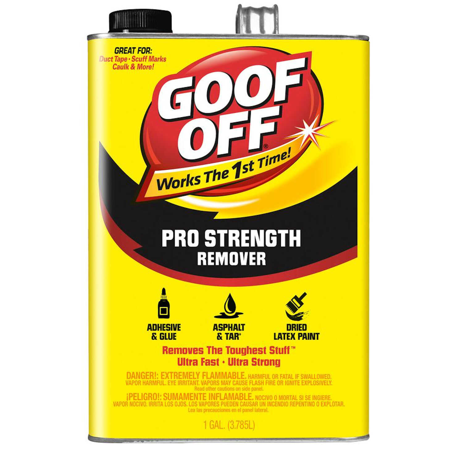 Goof Off  Pro Strength  Liquid  Remover  1 gal.