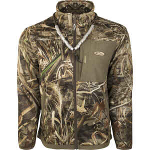 Drake  MST Endurance  M  Long Sleeve  Men's  Full-Zip  Liner  Realtree Max-5