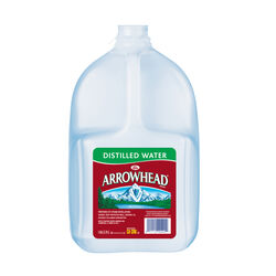 Arrowhead  Distilled Bottled Water  1 gal. 1 pk