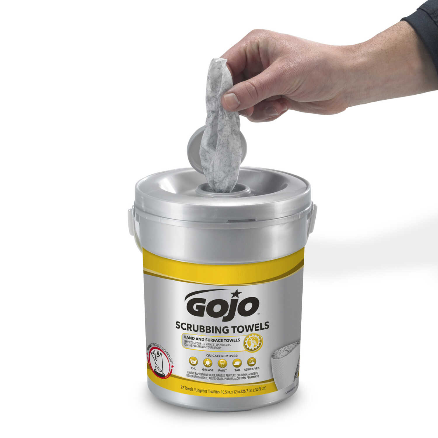 Gojo  Scrubbing Towels  Fresh Citrus Scent Hand and Surface Towels