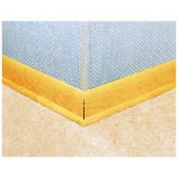 Miller  48 in. L PVC  Corner Beads  Corner Savers