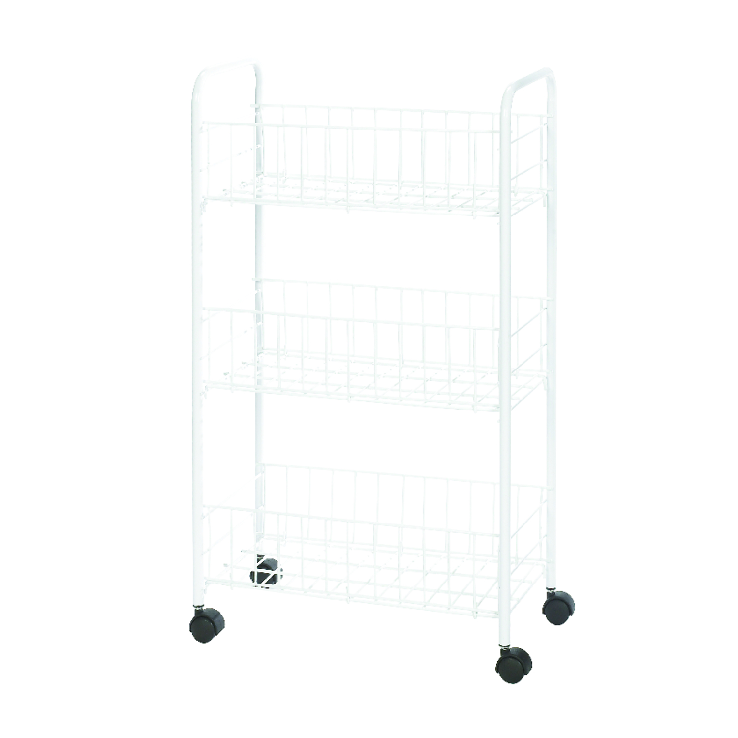 Whitmor  26-1/4 in. H x 8 in. D x 15-1/4 in. W Utility Cart