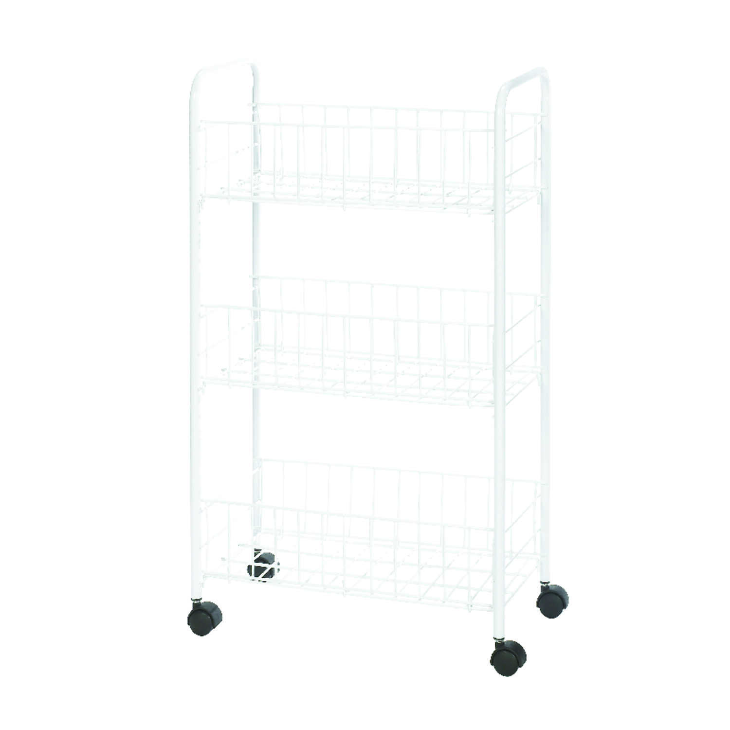 Whitmor  26-1/4 in. H x 15-1/4 in. W x 8 in. D Utility Cart